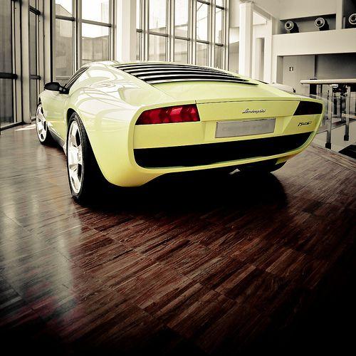 Retro futurist  Starring: Lamborghini Miura