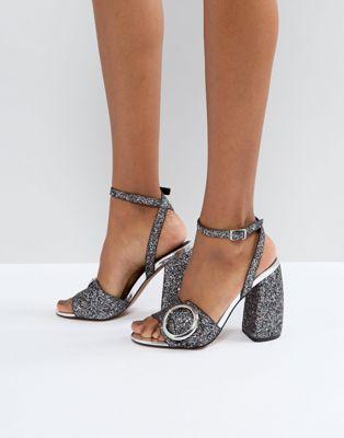 2e1a5da5628776 ASOS HICCUP Heeled Sandals