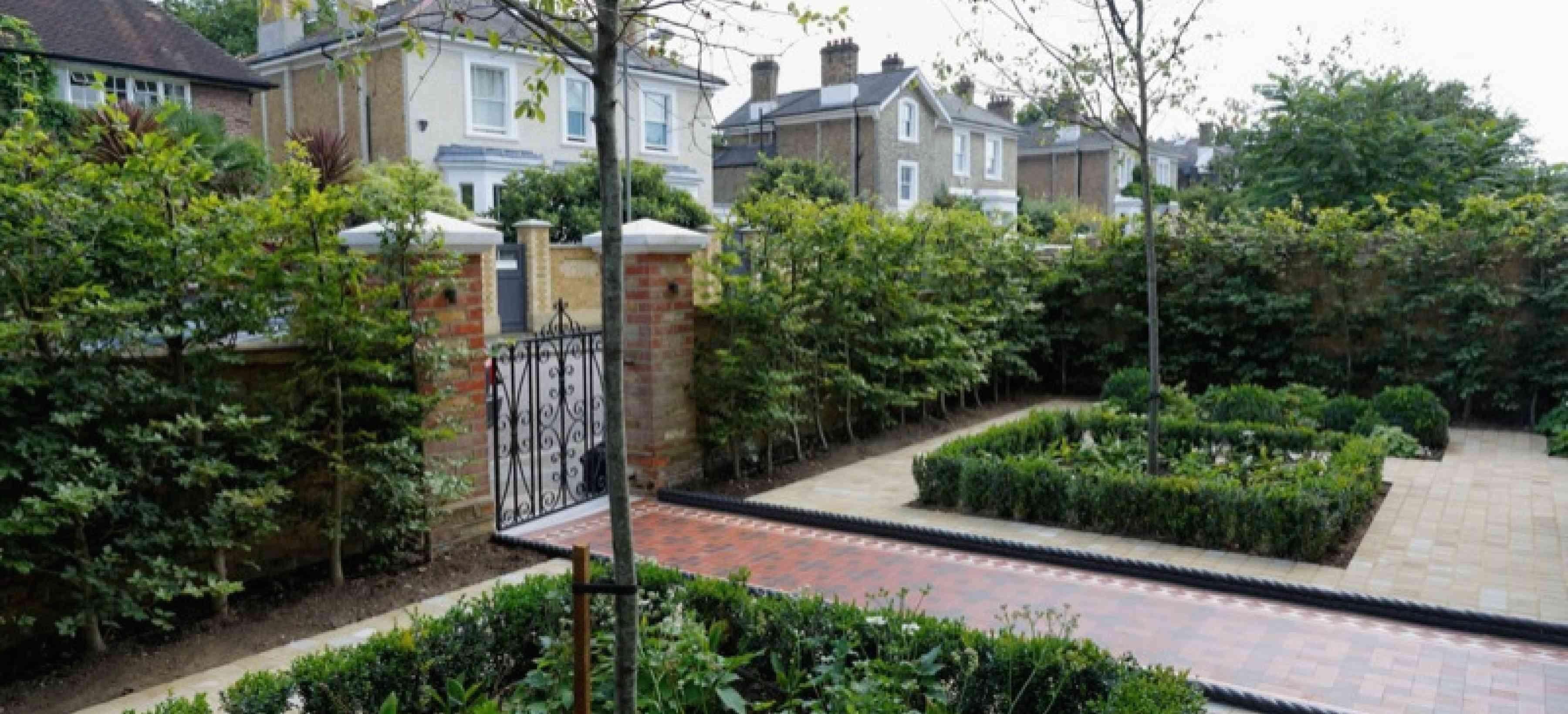 Victorian Garden South West London 1000 Victorian Front Garden Victorian Gardens Rock Garden Landscaping