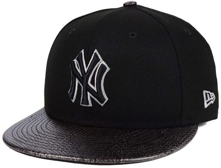 New Era New York Yankees Snakeskin Sleek 59fifty Fitted Cap Fitted Caps New Era New York Yankees