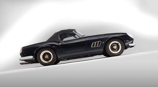 La Ferrari 250 GT California Spider, vendue pour 14,2 millions d'euros http://journalduluxe.fr/ferrari-250-gt-california-spider/