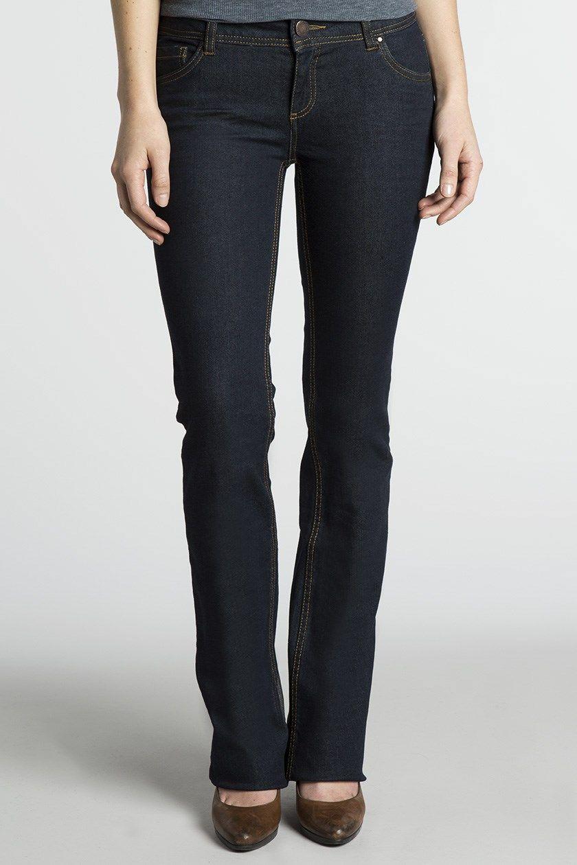 Jeans femme bootcut BELEM surpiqué  BONOBO brut  - marque : BONOBO Jean Bonobo bootcut, passants ceinture, 2 poches avant et dos, gousset, surpiqué, coutures contrastées, coton... prix : 29.99 €  chez BonoboPlanet #BONOBO #BonoboPlanet