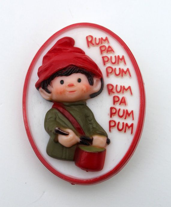 eb7842d542915 Vintage Hallmark Little Drummer Boy Decorative Lapel Pin