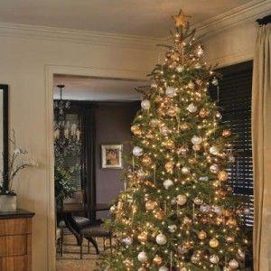 elegant christmas tree decorating ideas | Christmas | Pinterest ...