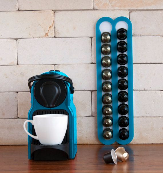 Nespresso Machine Coffee Capsules Holder Holds 20 Nespresso Pods Storage  Magnetic Coffee Nespresso Pod Stand Kitchen