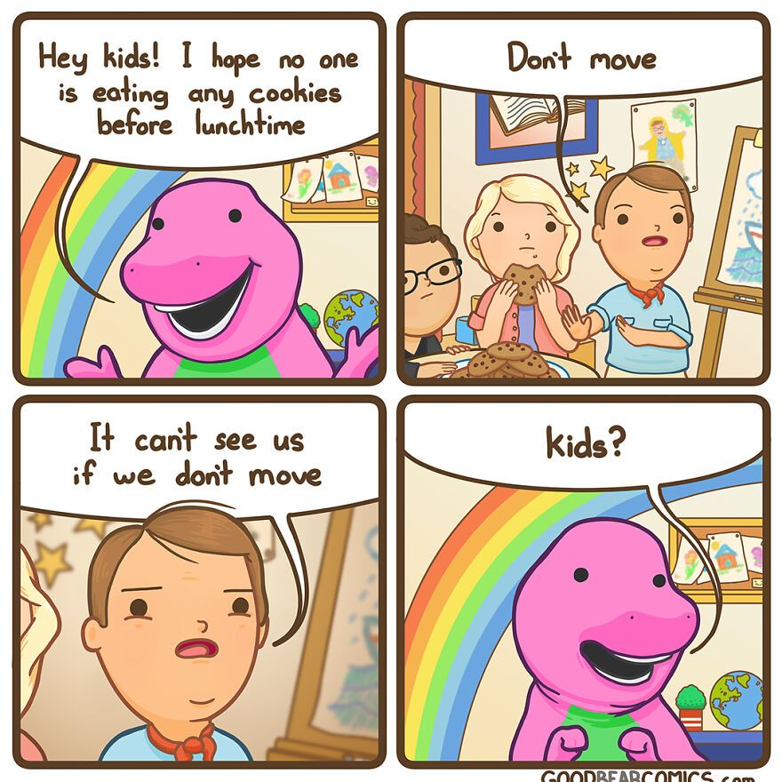 47 Comics People With Dark Humor Will Probably Enjoy By Good Bear Comics (New Pics)