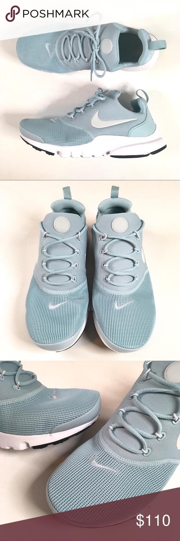 new style b11fc 2fe82 Nike Women's Presto Fly Blue Sneakers Nike Presto Fly ...