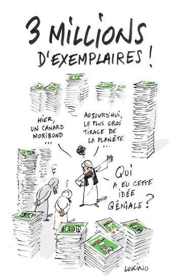 Charlie Hebdo  #Cabu dernier dessin #hommage @coco39100 Idées
