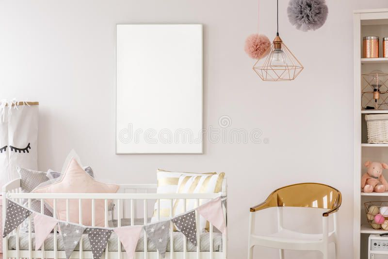 Scandinavian Baby Room With Crib Scandinavian Baby Room With White Crib Chair Spon Room Crib Sc Scandinavian Baby Room Scandinavian Baby White Crib