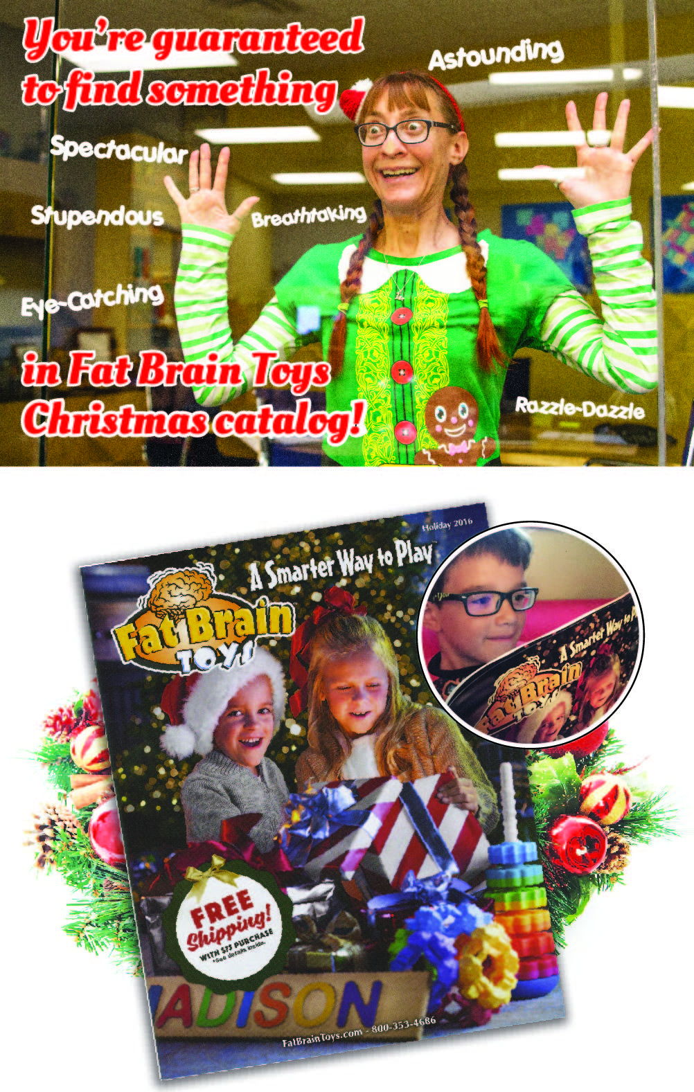 do you have your free christmas toy catalog yet click here if you want one