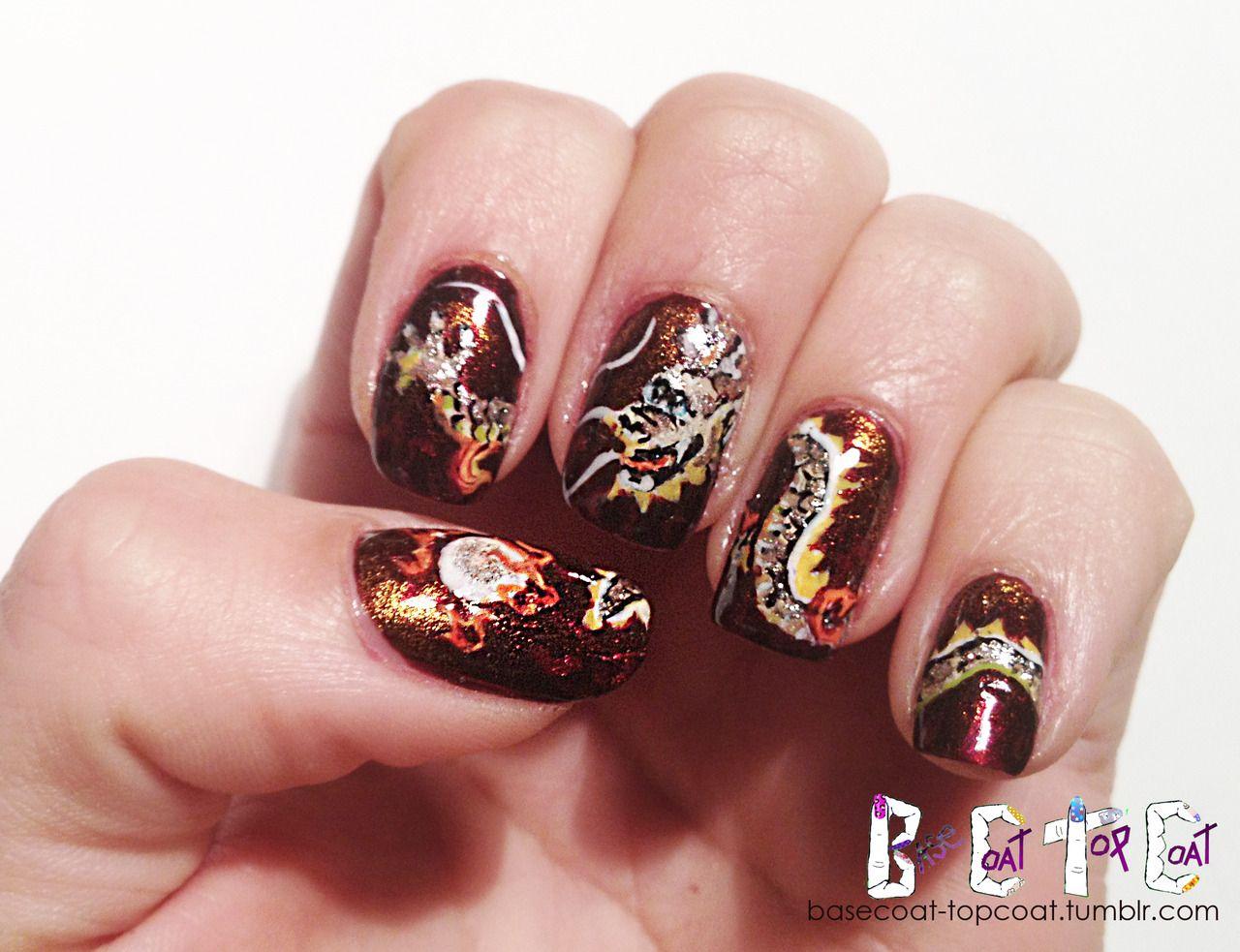 Chinese Dragon Nails | Killer Nails!! | Pinterest | Dragon nails ...