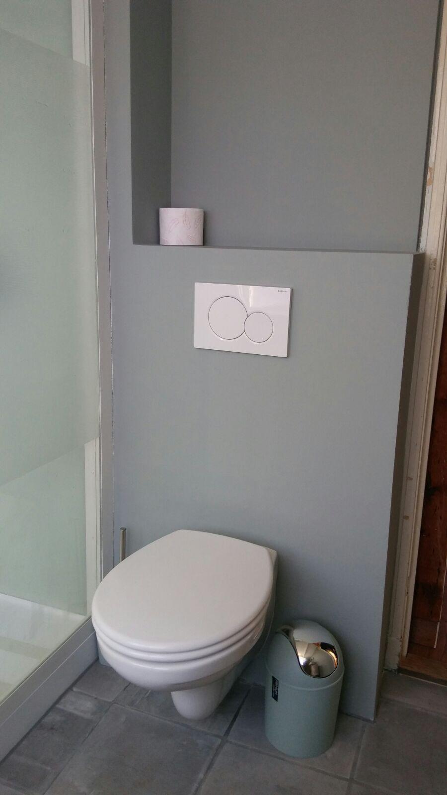 stucwerk badkamer geschilderd stucwerk pinterest toilet