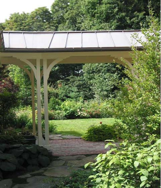Covered Walkway Designs For Homes: Garage Visit: Chestnut Hill Studio In Massachusetts
