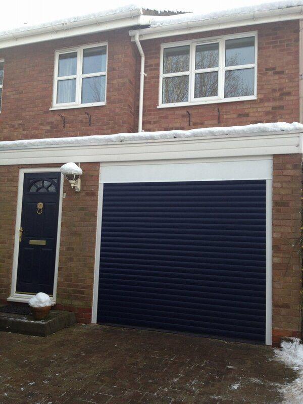 Interesting Decoration Blue Garage Door Skillful Design Beacon