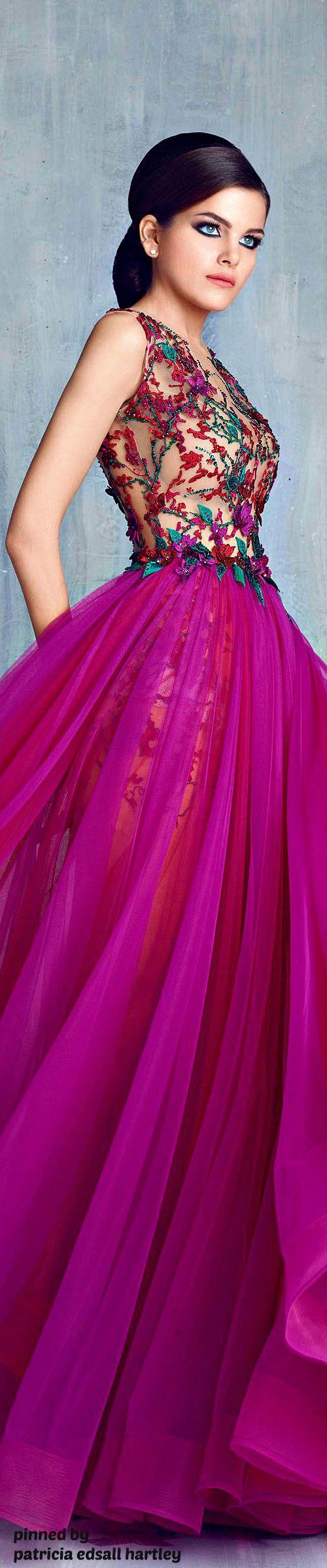Tony Chaaya SS 2016 Couture | Moda vestir elegante | Pinterest ...