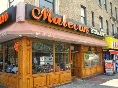 Malecon Restaurant 4141 Broadway Between 175th 176th