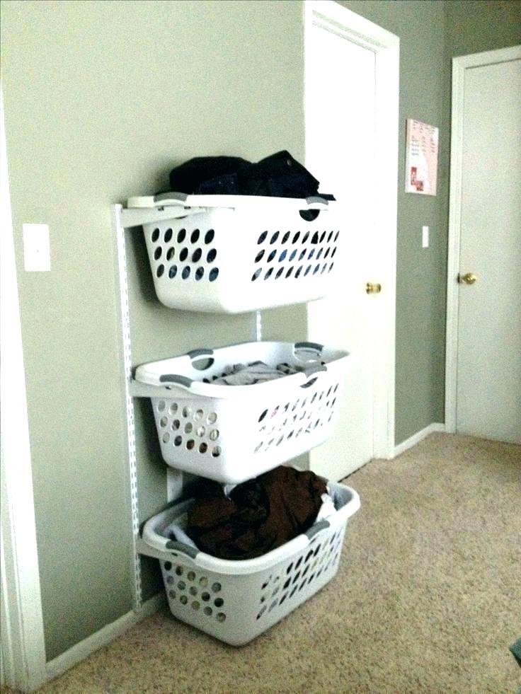 Laundry Basket Rack Laundry Basket System Hanging Baskets