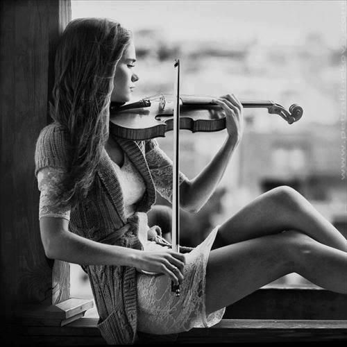 Discover Ideas About Black White Photography Play The Violin