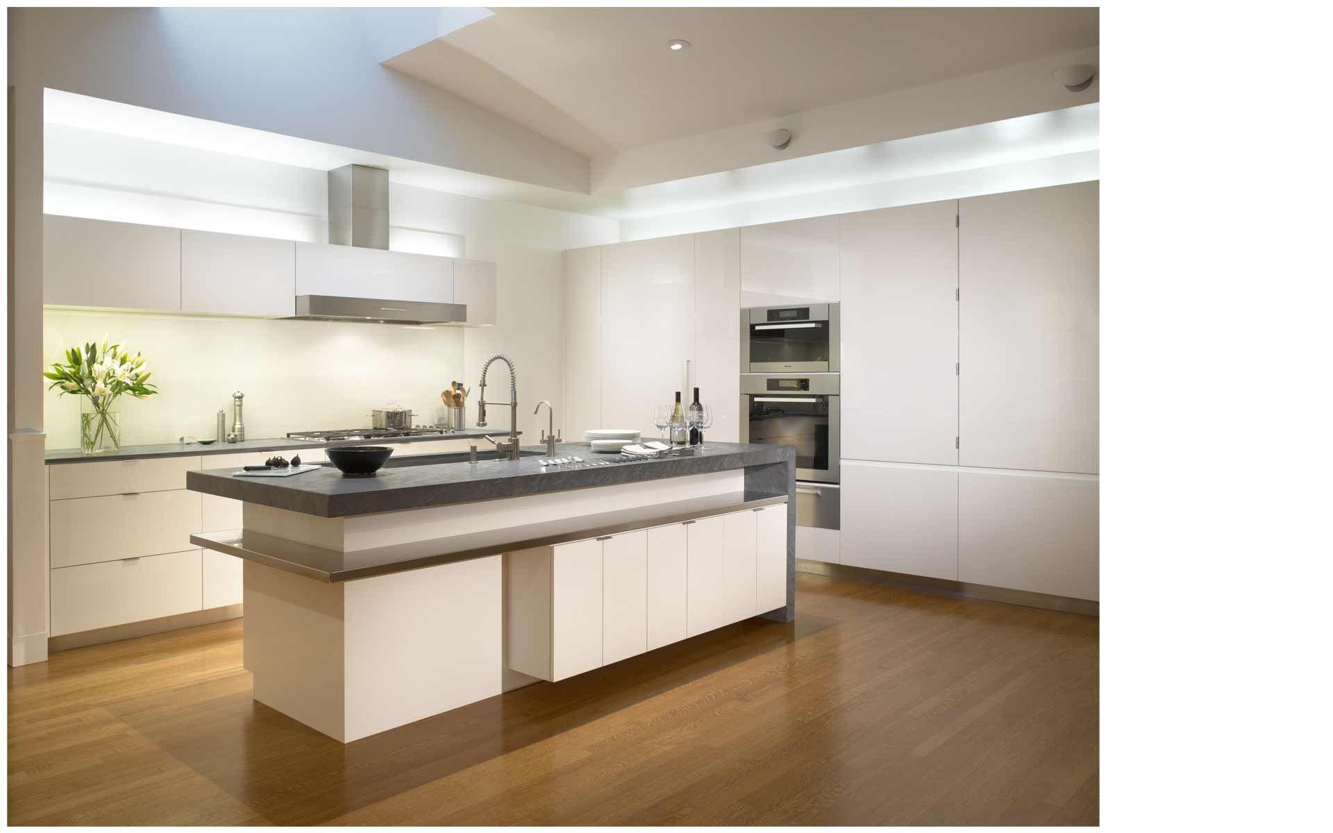 Kitchen Luxury Modern Safe Modern Kitchen Designs With Steel Brown