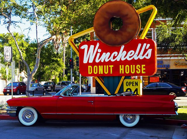 Winchell S Donut House Vintage Neon Signs Donuts Vintage Signs