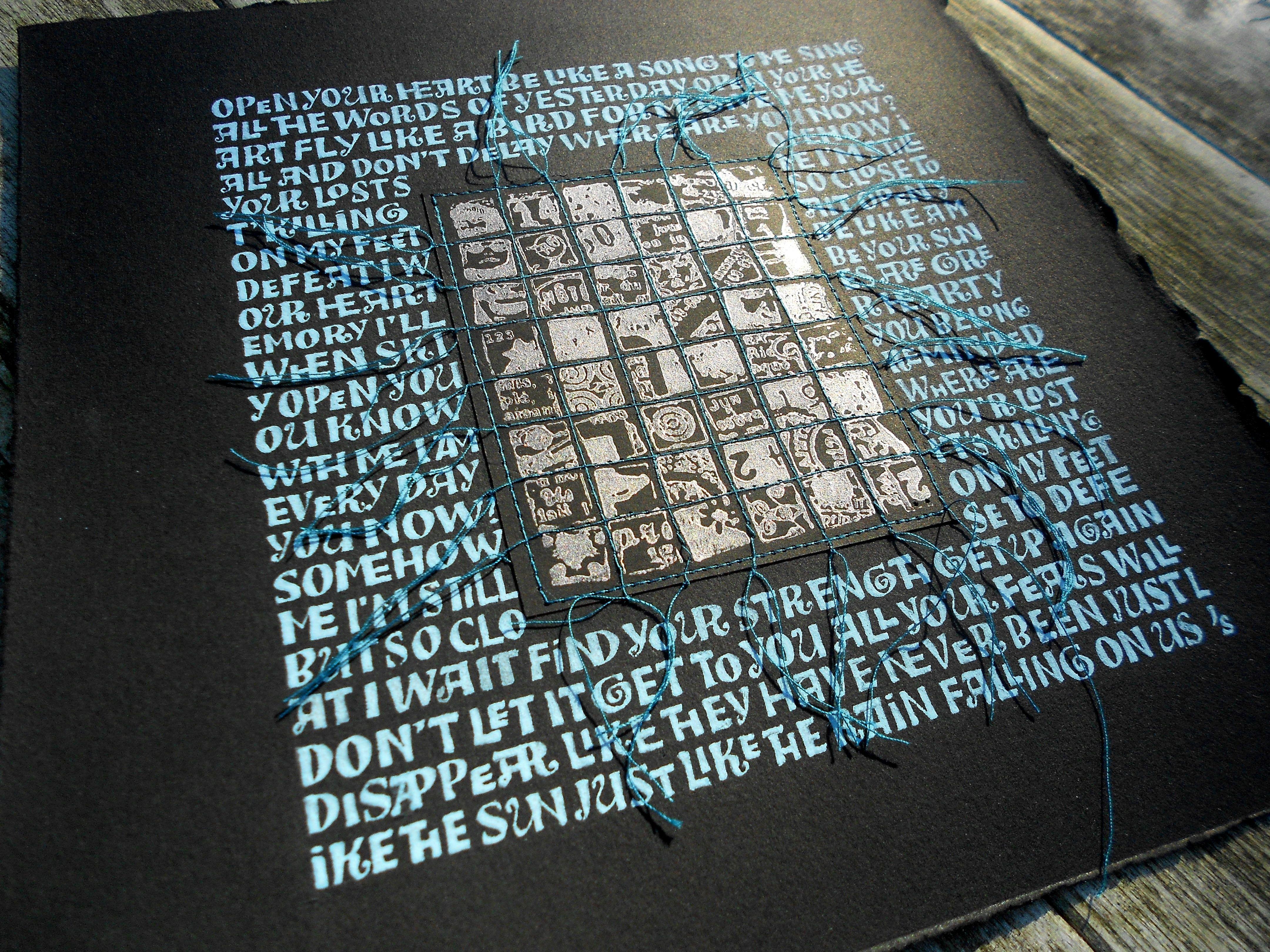 Kalligrafie met letters à la Ben Shahn in 2020 Kalligrafie