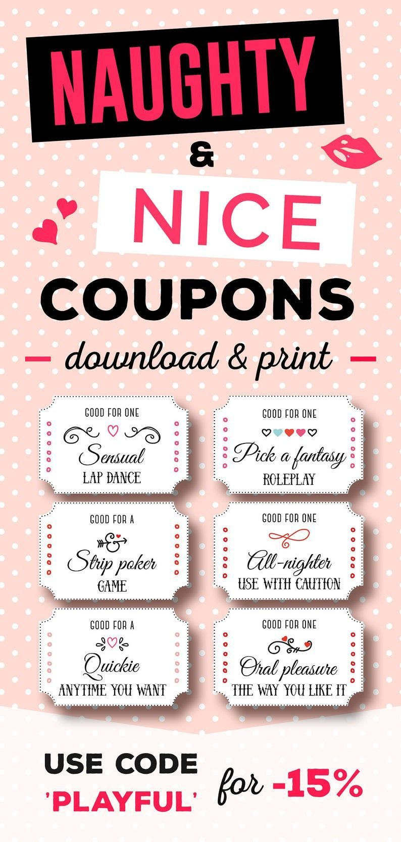 Love Coupons For Girlfriend Love Coupons Naughty Coupon Book Love Coupons For Him Birthday Wishes For Girlfriend