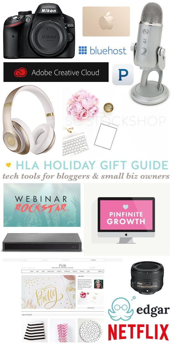 Great Gift Ideas For Bloggers Small Business Owners
