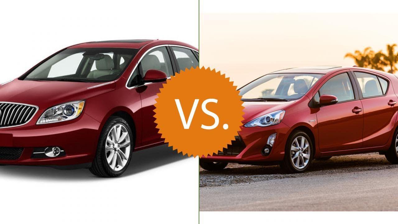 Compare 2016 Buick Verano Vs Toyota Prius C Mazda Mazda3 3