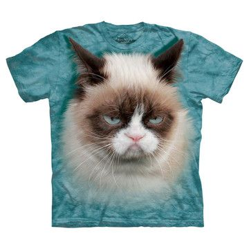 Grumpy The Cat Tee - eep! perfect tee to wear when wanting to tell the world you need some grumpy time.