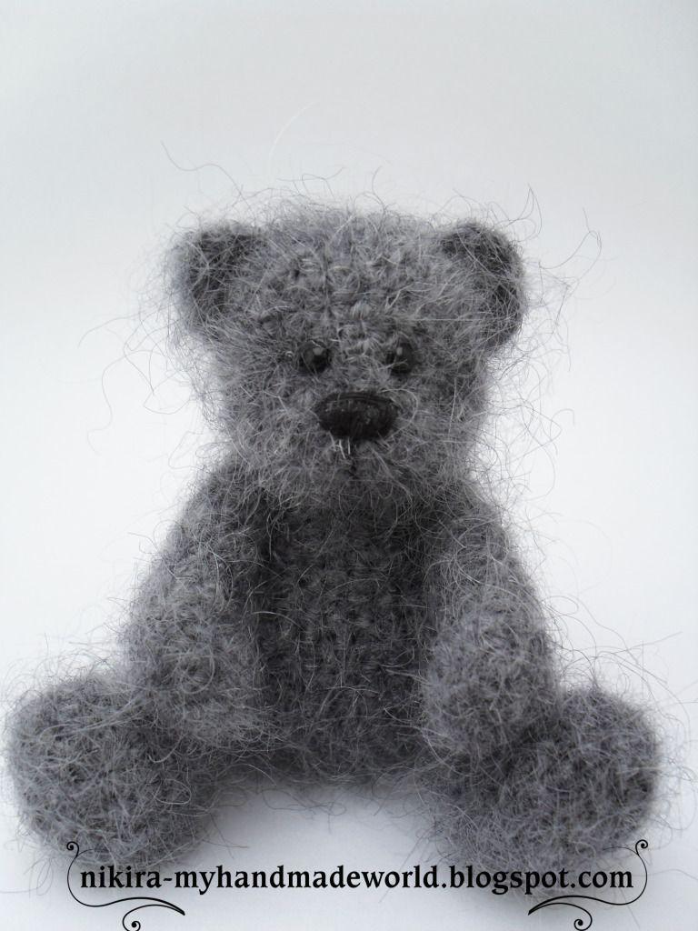Nikira. Вязаная игрушка: Little bear/Маленький мишка | Amigurumi ...