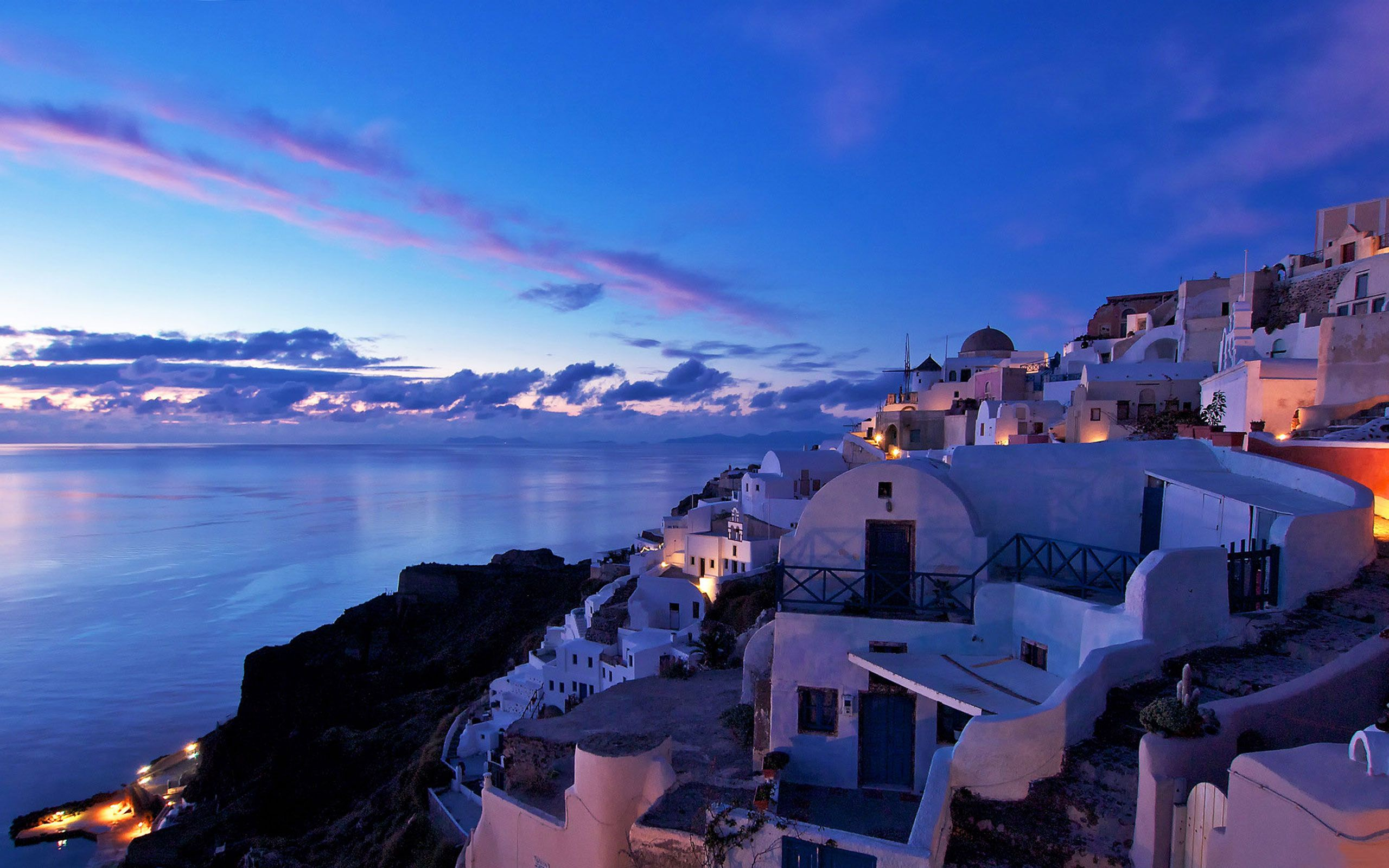 greece landscape wallpaper bing images