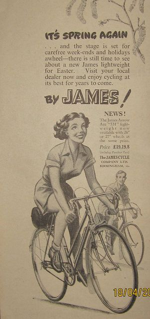 James Arrow Ace Cycling 1953 Ma Dove Vai Bellezza In Bicicletta