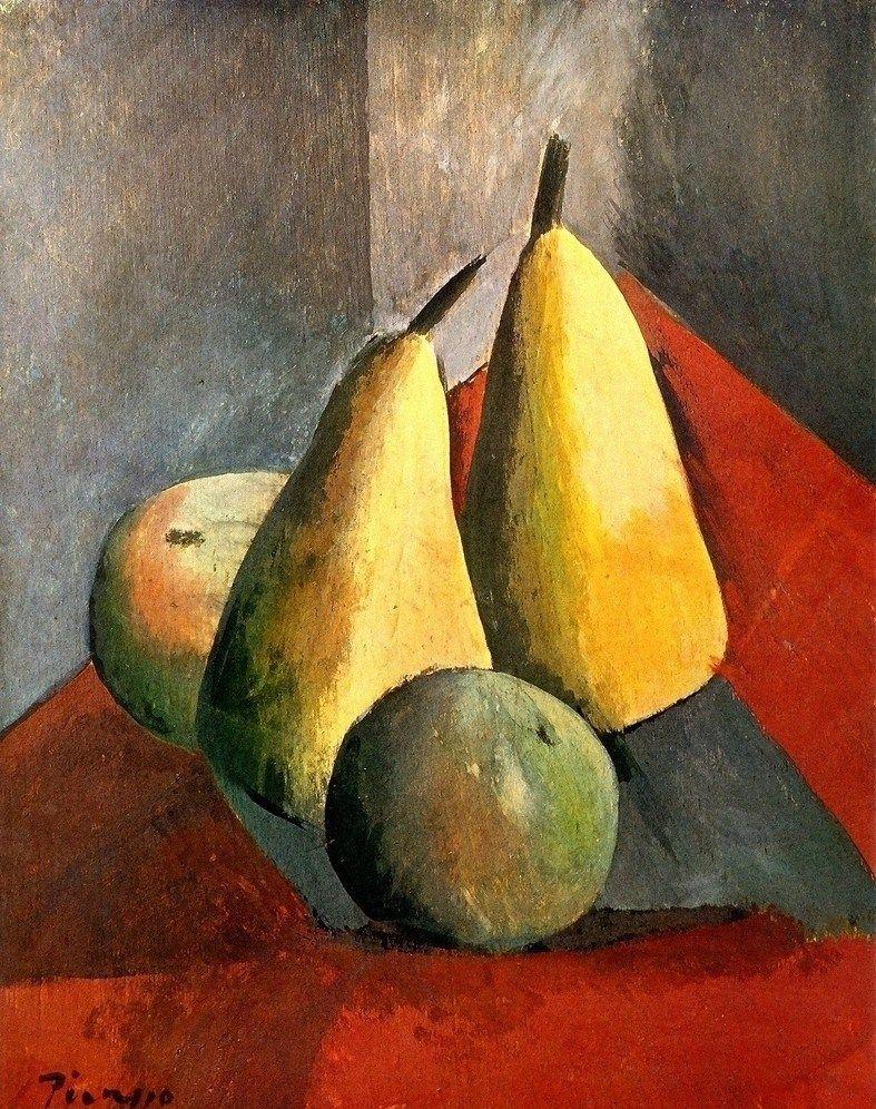 Pablo Picasso Poires Et Pommes Pablo Picasso Peintures Picasso