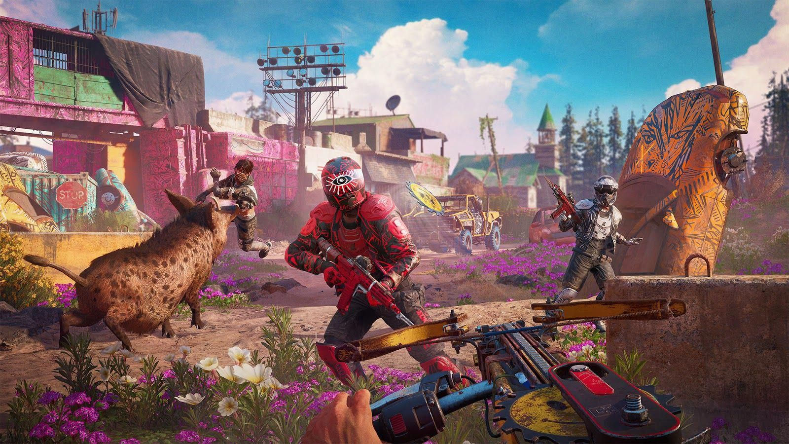 Far Cry How To Unlock The Blood Dragon Outfit In New Dawn