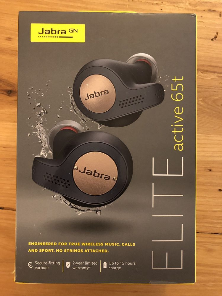 Ebay Sponsored Jabra Elite Active 65t Alexa Enabled True Wireless Sports Earbuds Copper Blue Wireless Sport Earbuds Earbuds Wireless