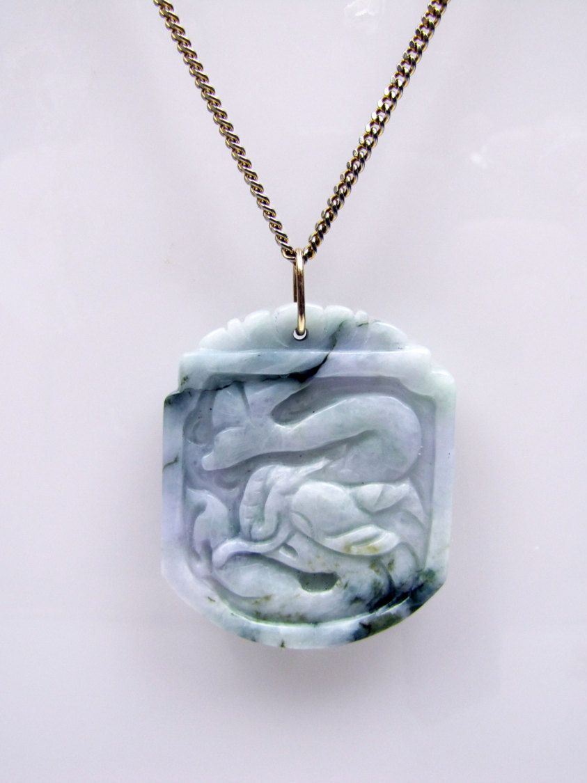 ruby necklace green yin jade fantastic lane natural gold kwan snake n buddha sold item pendant