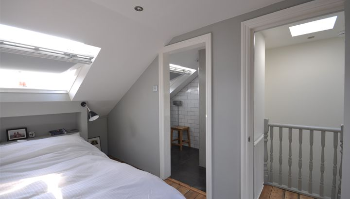 The New Space Comprises A Beautiful Bright Bedroom With Full Height Glazed Doors To The Rear A Wetroom Complete With Sh Loft Room Loft Conversion Loft Spaces