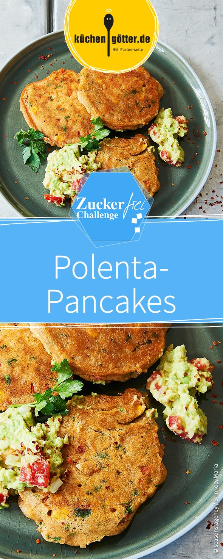 Mexikanische Polenta Pancakes Rezept Clean Eating Zuckerfreie