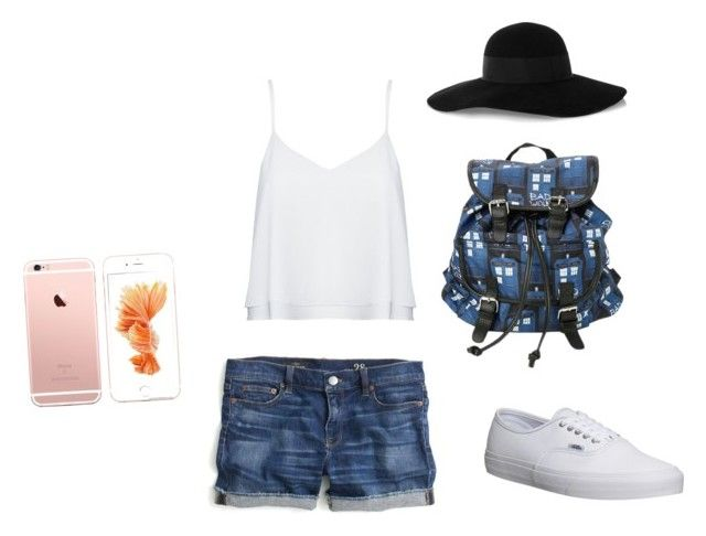 """""""Untitled #2"""" by travelsoccer23 ❤ liked on Polyvore featuring J.Crew, Alice + Olivia, Vans and Eugenia Kim"""