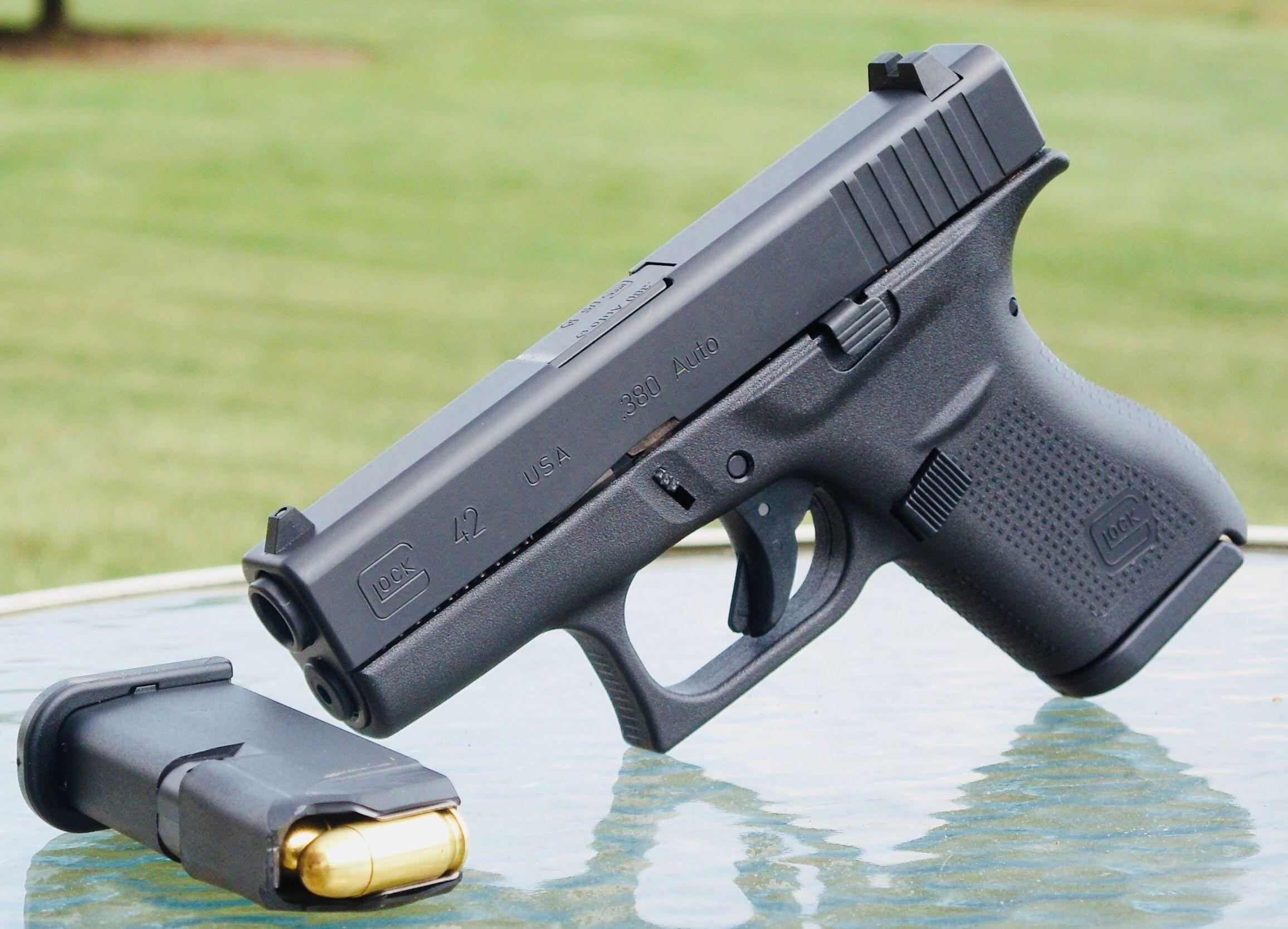 Glock 42  380 ACP | Firearms | Glock 42, Guns, Firearms