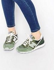 basket femme new balance vert kaki
