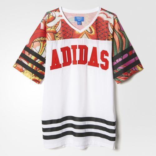 adidas t-shirt kleid damen