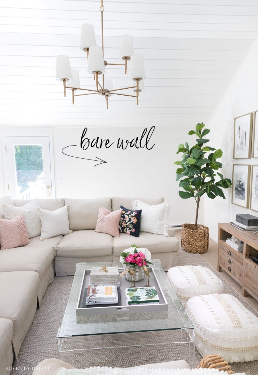 6 Living Room Wall Decor Ideas Say Goodbye To Those Bare Walls Driven By Decor Wall Decor Living Room Family Room Decorating Room Wall Decor