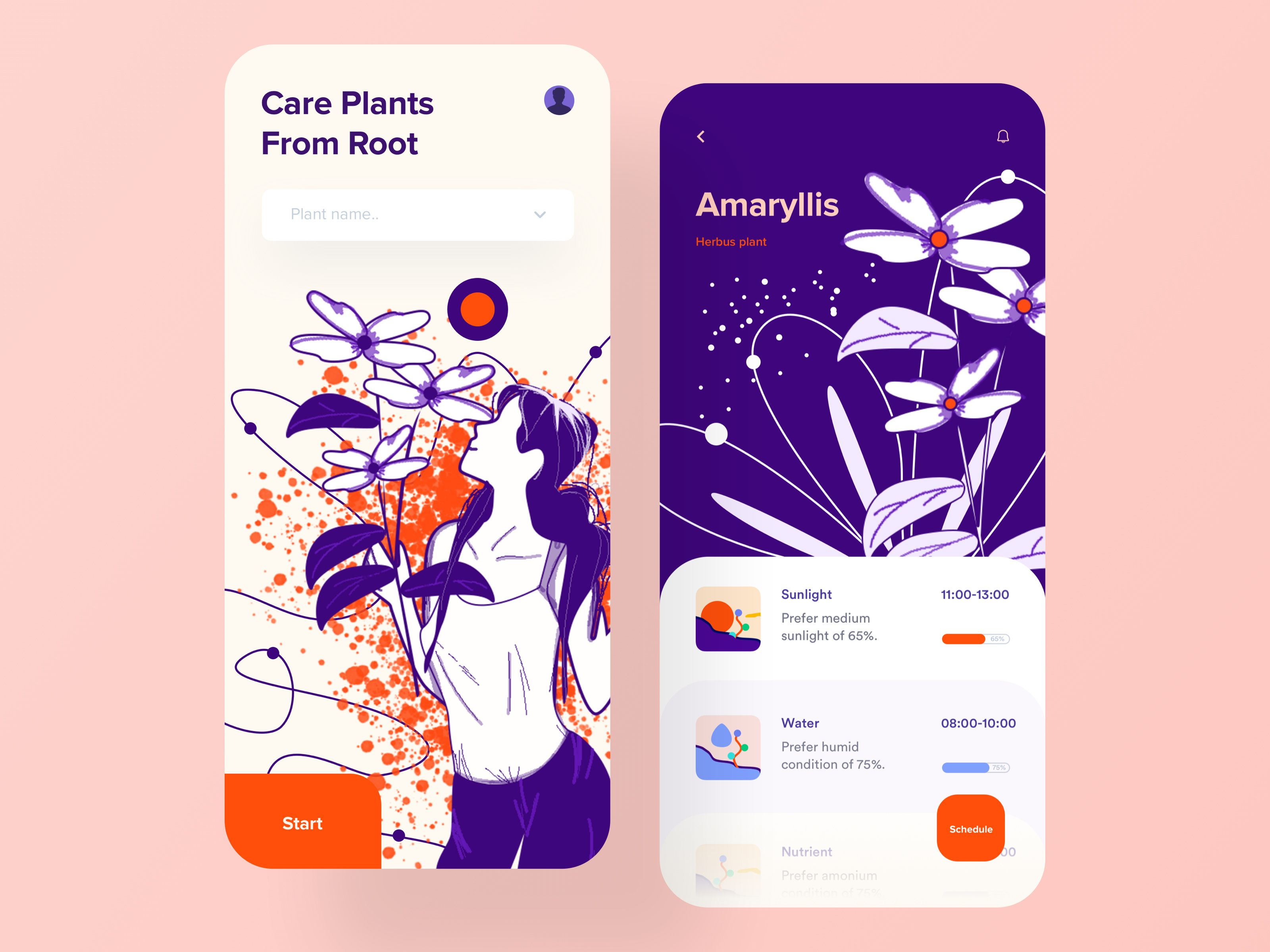 Plant Care App (With images) Flyer design layout