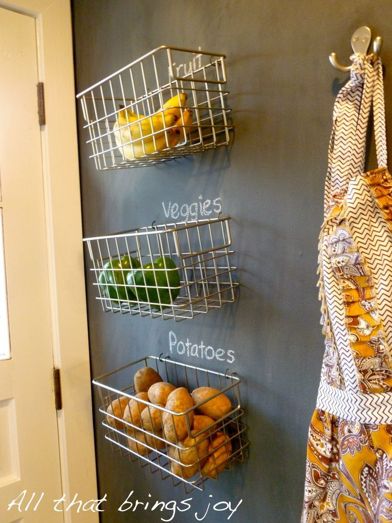 Kitchen Fruit Basket Dinnerware Our New Obsession Hanging Baskets Home Homedit Interior Design And Architecture Inspiration Wall Storage Wire