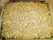 Apfel - Nuss - Streusel mit Quarkcreme TESTED AND APPROVED ;)