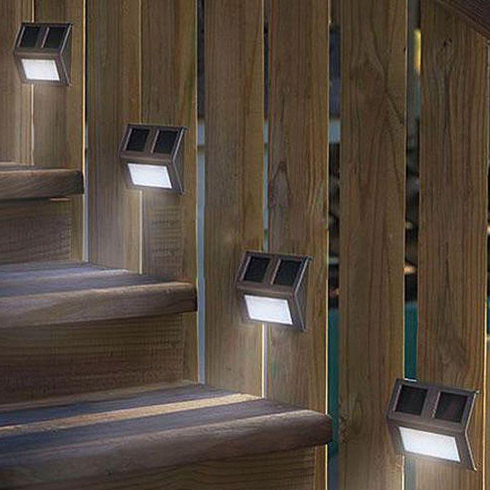 Deck solar lighting home and garden pinterest decking deck solar lighting mozeypictures Image collections