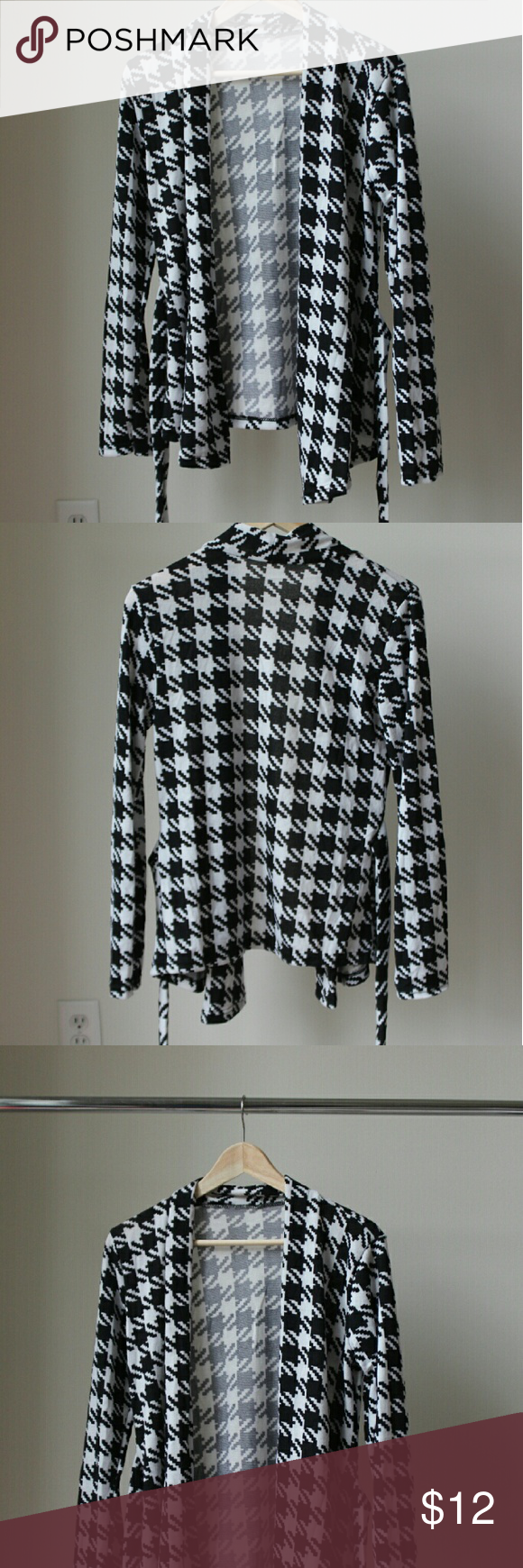 Black and White Cardigan In great condition Sweaters Cardigans