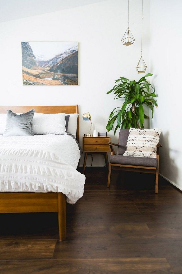 34 Awesome And Stylish Mid Century Bedroom Decor Ideas Mid Century Bedroom Decor Bedroom Interior Home Decor Bedroom