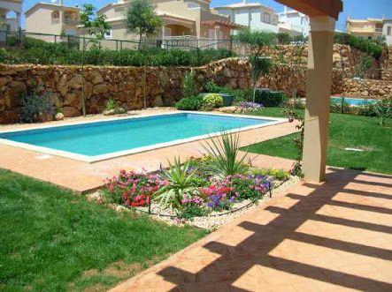jardins com piscinas pequenas - Buscar con Google Piscinas Pinterest